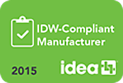 IDW Compliance Badge