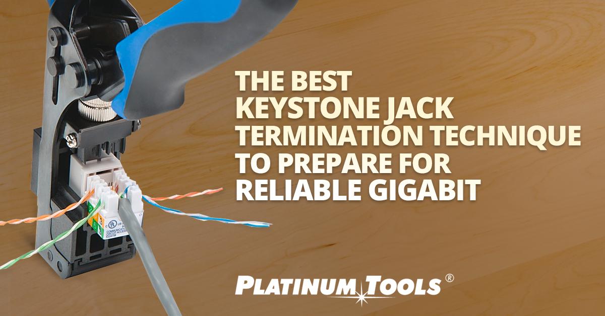 keystone termination jack