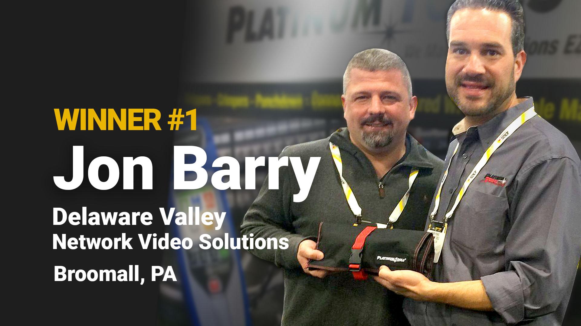 Jon Barry Delaware Valley Network Video Solutions