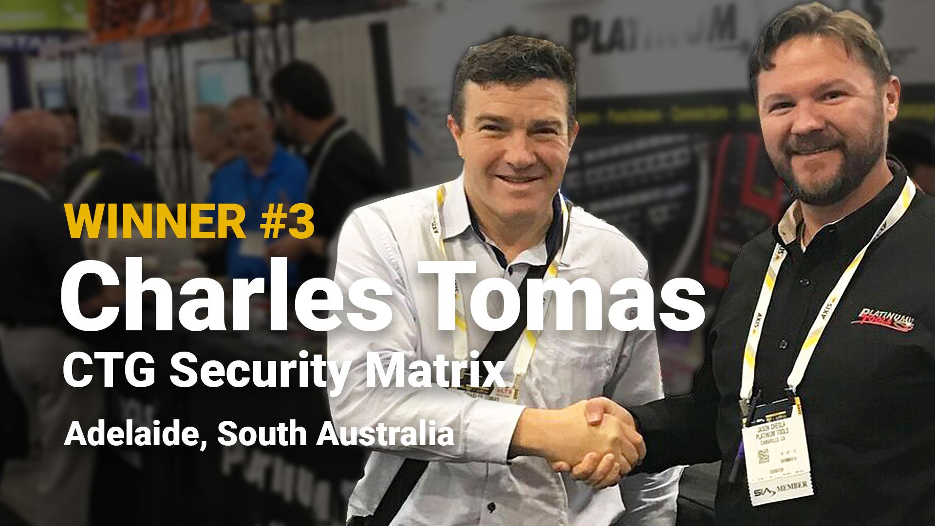 Winner #3 Charles Tomas CTG Security Matrix