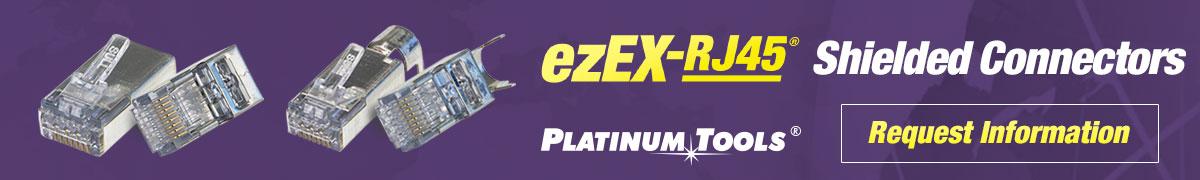 ezEX-RJ45 Shielded Connectors