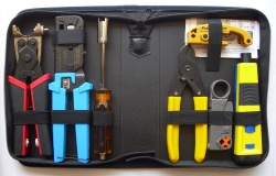 PRO Twisted Pair & Coaxial Tool Kit (P/N 90124)