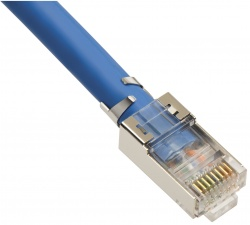 RJ45 CAT6A 10Gig Shielded Connector