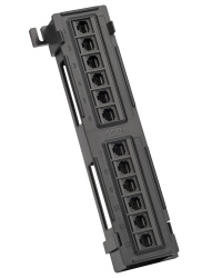 12 Port Cat5e Non-Shielded Patch Panel