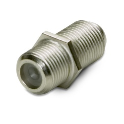 F-Connector coupler (F81)