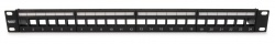 Unloaded Patch Panel, 24 Port, Unshielded