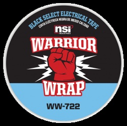 WarriorWrap® 722 Select 7 mil Electrical Tape