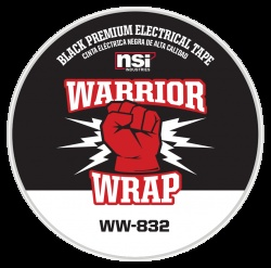 WarriorWrap® 832 Premium 8.5 mil Electrical Tape