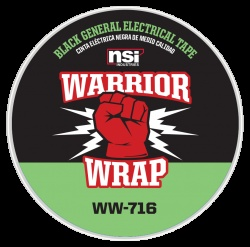 WarriorWrap® 716 General 7 mil Electrical Tape